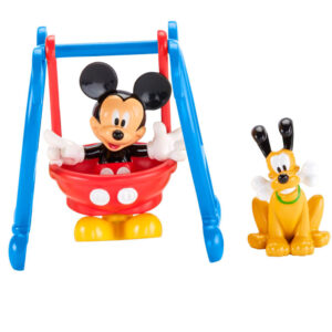 Pack com 2 Figuras - Mickey Mouse Clubhouse - Balanço do Mickey - Fisher-Price