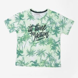 Camiseta Its Time for Action Verde